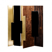 BOCA DO LOBO AVENUE  FOLDING SCREEN