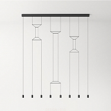 Vibia WIREFLOW LINEAL 0340 suspension